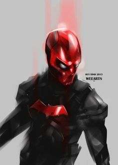 """Red Hood by Huy """"Wee"""" Dinh"""