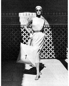 Georgia Hamilton by Karen Radkie for Harpers Bazarr magazine 1950s