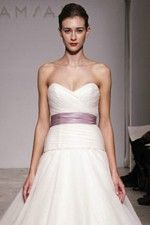 This wonderful Wedding Dresses Unusual And New Fashion Bridal Gowns Sensual Scalloped Bodice Cute Sleek Light Purple Sash Wedding Dress This beatiful cheap wedding dresses use the Chiffon material, the front Sweetheart neckline compose this elegant and charming dress.Empireoutline match with your unique and sexy appeal. Dressaler.com offer you the best empire wedding dresses There must be one for you. - $151.19