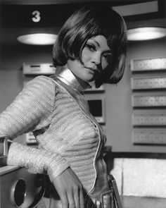 Moonbase operative, played by Maureen Tann.