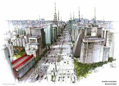 EDUARDO BAJZEK: Avenida Paulista Aérea