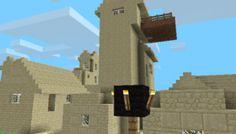 a huge desert village, moutain village, 2 blacksmith, 2 desert wells Minecraft Pe Seeds, Minecraft Music, Minecraft City, Cool Minecraft, Minecraft Skins, Minecraft Buildings, Very Fun Games, Minecraft Creations, The Wiz