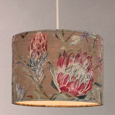 BuyVoyage Moorehaven Cylinder Lampshade, Multi, 25cm Online at johnlewis.com