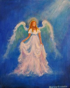 Commissioned Painting of YOUR own guardian angel We all have several angels, or spirit guides; whatever you prefer to call these loving entities who surround us throughout our lives and guide us in times of trouble.What if you could actually see what they look like? I will give a visual presence to YOUR OWN specific guardian angel. I ask your angel to come through on canvas so that you can see it and feel its loving presence before you. I will paint whatever comes through and let the angel…