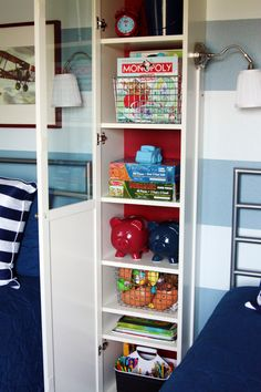 Storage and bedside lamp