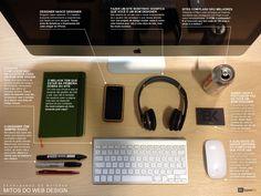 Infográfico organizado pela BaseKit desmente alguns dos maiores mitos do web design.