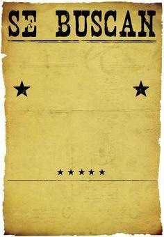 Wanted Poster Template. See More. Invitación Gratis De Cumpleaños Para  Imprimir   Fiesta De Cumpleaños Vaquero   Greetings Island Más