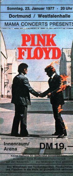 Pink Floyd Concert Poster (Germany) https://www.facebook.com/FromTheWaybackMachine