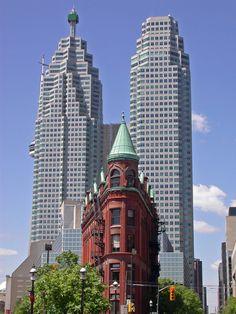 Flatiron Building, Toronto, Canada.