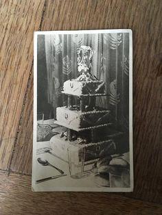 Items similar to Vintage Photo, Wedding Cake, 020 on Etsy