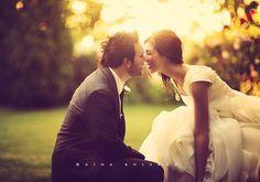 sweet couple shot.
