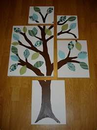 DIY nursery tree art | A Winding Road
