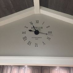 Clock Wall Decal Large Wall Clock Kit With Working Hands