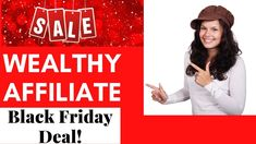Wealthy Affiliate Black Friday Offer, Start working on firing your boss! Black Friday Offer, Black Friday Deals, Working On Fire, Grammar And Punctuation, Your Boss, Affiliate Marketing, Online Business