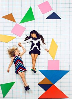 Tangrams Kids Concept Shoot