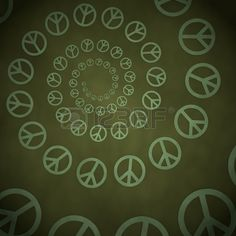 3d graphic with peacefully peace label  on vintage background photo