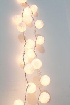 Fairy Lights Bolinha de Linha Branca - Toda Coisinha R$99