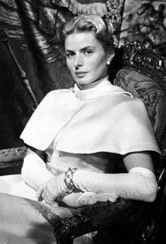 Ingrid Bergman Anastasia 1956. Classic Hollywood Stars.