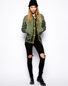 Image 4 of Alpha Industries Ma1 Bomber Jacket