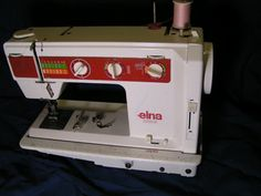 My machine! Elna Jubilee, year?  this site says.  But anyway it was the last year before they were made in China or wherever.
