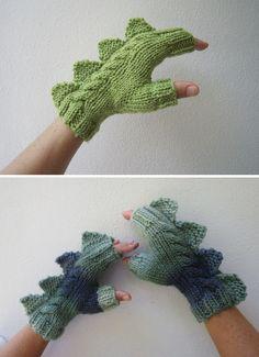 HUH?!? Dino gloves!!!!!