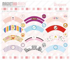 wrappers con toppers