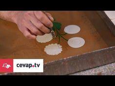 Firdevs Çalkanoğlu Ebru Atölyesi - Gelincik Buketi Ebrusu - YouTube