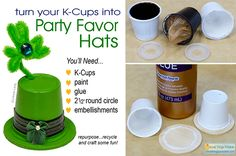 If you've got K-Cups...You've Got Party Hats! Annie Lang will show you how