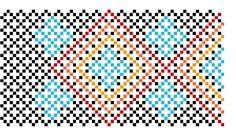 The Bumblebead: New Design! Free Huichol Bracelet Pattern