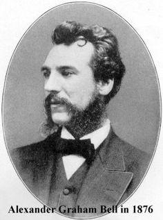 Alexander Graham Bell in 1876