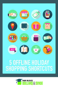 5 Offline Holiday Shopping Shortcuts #lists #advice