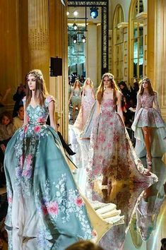 The Fashion Dish: Zuhair Murad Spring 2016 Haute Couture Finale.
