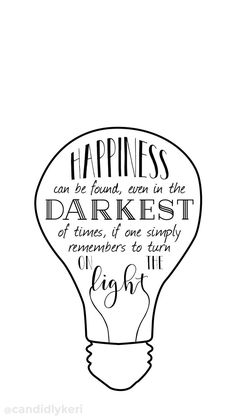 """""""Happiness can be found even in the darkest of time if one simply remembers to turn on the light"""" Dumbledore Harry potter light quote inspirational background wallpaper you can download for free on the blog! For any device; mobile, desktop, iphone, android!"""
