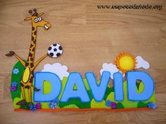 www.unpocodetodo.org - Cartel de David - Carteles - Goma eva