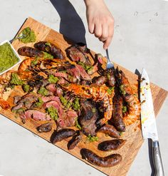This classic Brazilian dish of grilled meats is the perfect carnal meal for a crowd.