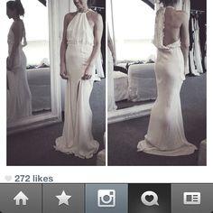 DREAM DREAM DREAM WEDDING DRESS
