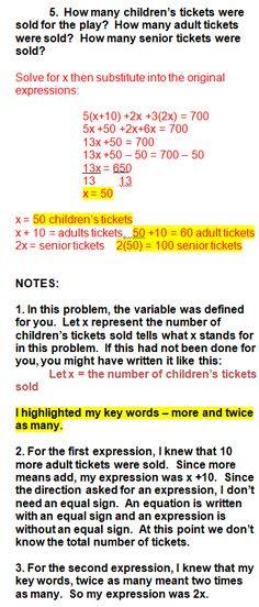 18 Math Language Ideas Math Education Math Algebra