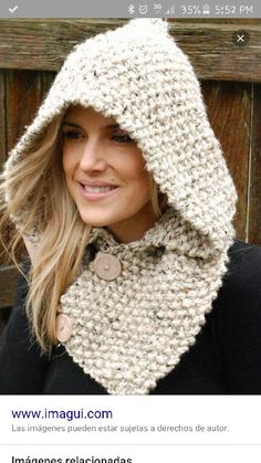 Gorro con cuello super in! #winter