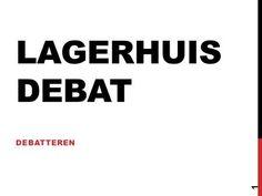 LAGERHUIS DEBAT DEBATTEREN 1. 1.Beargumenteerd je mening geven. 2.Wat een (Lagerhuis)debat is. 3.Hoe je een debat voorbereidt en voert. 2 AAN HET EINDE.