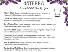 Essential Oils Doterra Diffuser Blends | Canker Sore Treatment