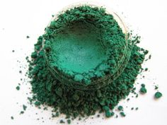 DRAGON Green Mineral Pigment Eyeshadow Vegan by Rocksterize, $8.00