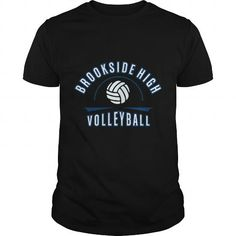 Awesome Volleyball Lovers Tee Shirts Gift for you or your family member and your friend:  brookside hight volleyball Tee Shirts T-Shirts