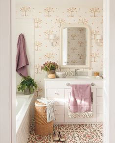 Consider this significant picture and also take a look at the presented ideas on Lavender Bathroom Decor Bathroom Colors, Small Bathroom, Master Bathroom, Coral Bathroom, Lavender Bathroom, Stairs In Living Room, Walk In Shower Designs, Cheap Bathrooms, Shower Doors