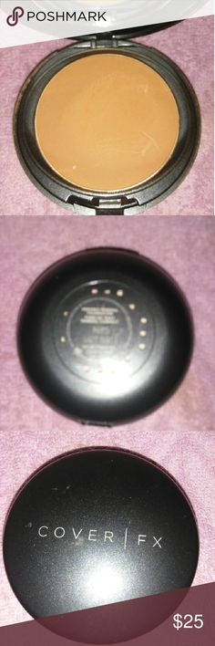 Cover FX Mineral Pressed Powder Foundation N85 Swiped once Makeup Foundation