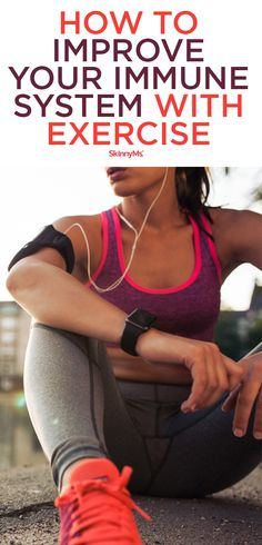 Regular exercise is one of those lifestyle tweaks that can boost immune response naturally. Learn how to improve your immune system with exercise. Health And Fitness Magazine, Health And Fitness Tips, Fitness Gear, Fitness Diet, Fitness Motivation, Fitness Routines, Fitness Exercises, Workout Routines, Daily Health Tips