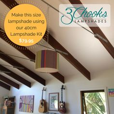 Learn how to make lampshades with this fun and easy kit. Available in a range of sizes - create table lamps, bedside lamps, hanging pendants. Lampshade Kits, Make A Lampshade, Lampshades, Rotary Cutter, Trestle Table, Hanging Pendants, Bedside Lamp, Step By Step Instructions, Paper Cutting