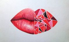 lips red-palette