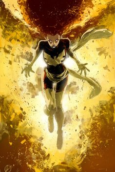 Dark Phoenix by Matteo Scalera, colours by Mike Spicer