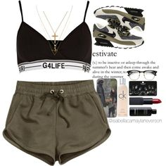 i wish i could change my user name lol |6|23|15 by isabellacamaylaneverson on Polyvore featuring polyvore fashion style H&M River Island NIKE Topshop Yves Saint Laurent Wanderlust + Co NARS Cosmetics Calvin Klein BRAD Biophotonic Skin Care éS