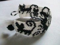 Браслет из бисера «Котики» со схемой